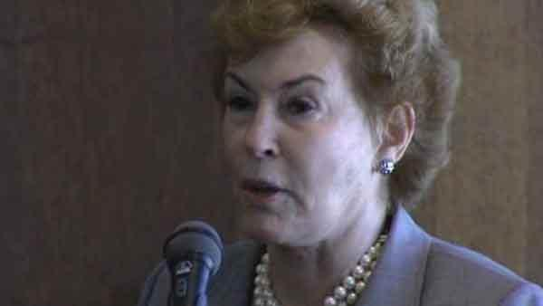 Nora Brownell talks at Port of Houston meeting