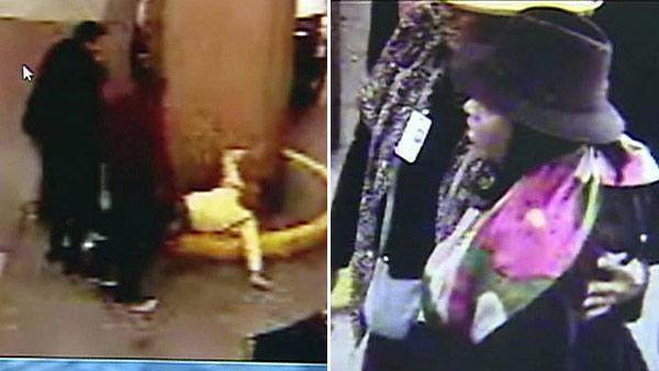 Alleged attack caught on surveillance video