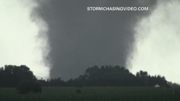 Tornado caught on video in NE