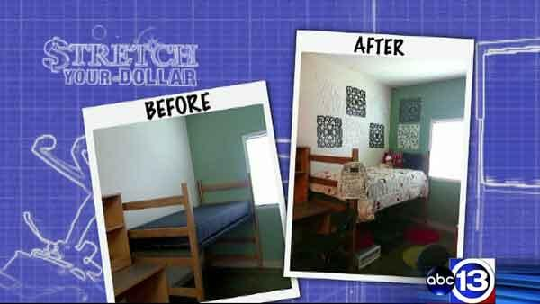 stretch your dollar tips to decorate dorm rooms on a