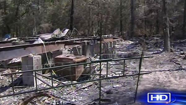Mont. Co. residents return to survey fire damage