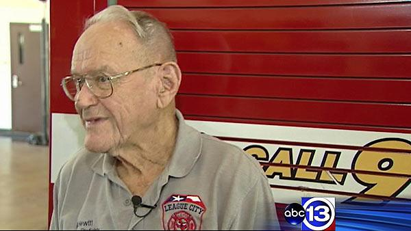 Volunteer firefighter, 92, not ready to call it quits