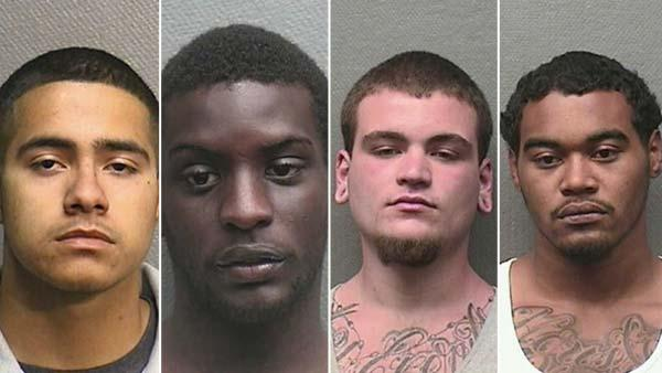 Four arrested for crime spree in Heights
