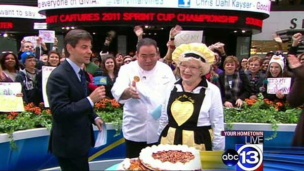 Baytown's 'Pie Lady' takes her creation to NYC