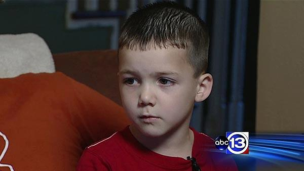 Boy saves grandfather's life on hunting trip