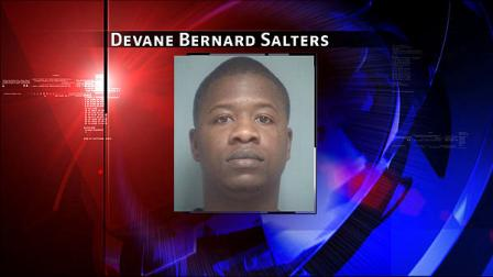 Devane Bernard Salters, 33, is charged with burglary of a habitation and aggravated assault with a deadly weapon.