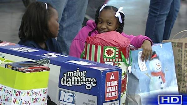 Holiday wishes for children granted