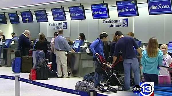 Busy travel day may cause delays at airports, roadways