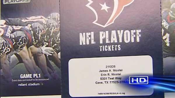 Texans playoff tickets sell out in less than 5 minutes