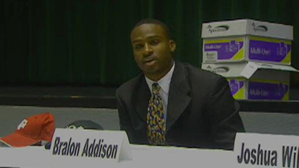 Hightower QB Bralon Addison signs with Oregon