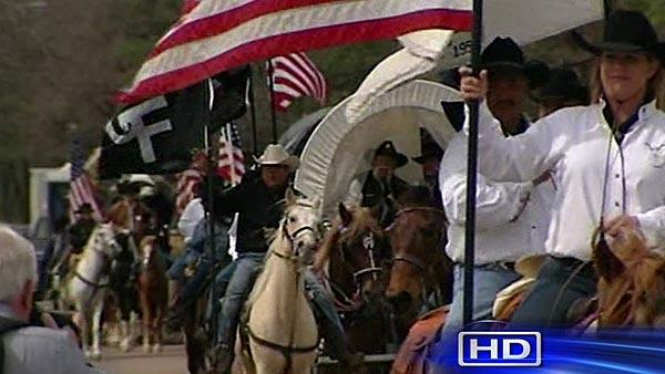 Trail riders converge on Memorial Park