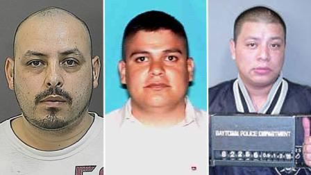 Daniel Torres Jr., 31, Arturo Chavez Jr., 32, and Juan Carlos Magana, 29, are all charged with murder.