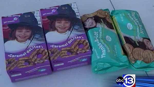 Girl Scouts fight back against cookie money thief