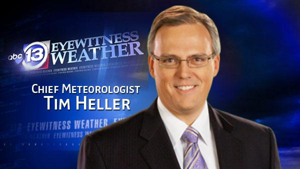Tim Heller's Houston weather forecast