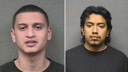 Manuel Rivera-Sanchez , left, and Israel Soriano are charged with capital murder in connection to the fatal shooting of a 27-year-old man at an apartment complex on March 1.
