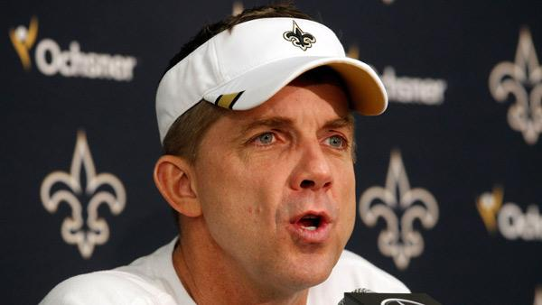 Saints head coach suspended for 2012 season by NFL