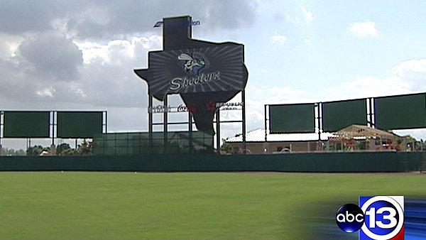 Skeeters putting finishing touches on new stadium