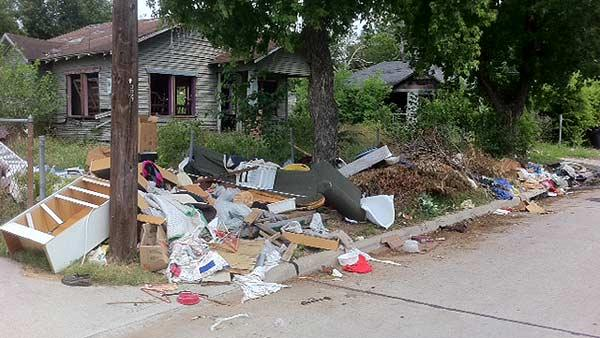 Fifth Ward residents upset about illegal dumping