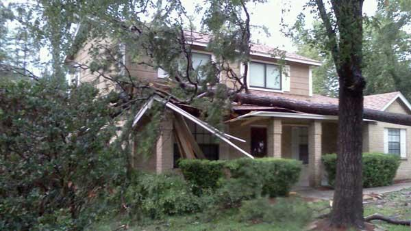 Severe weather causes some damage
