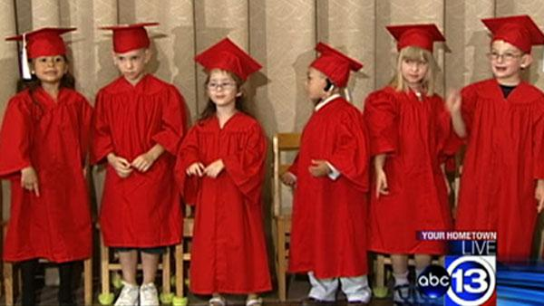Deaf children part of very special graduation