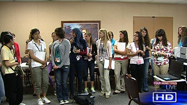 Female students get first-hand look at NASA