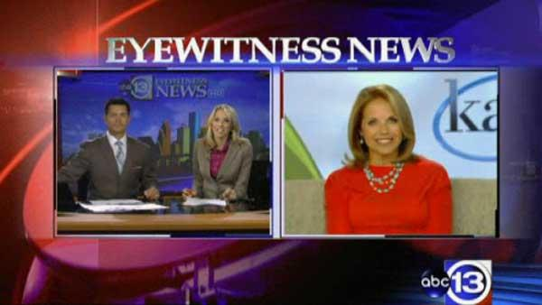Katie Couric talks about her new ABC show