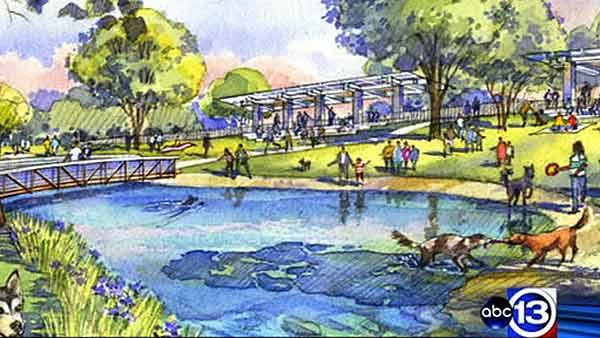 Project to transform section of Buffalo Bayou