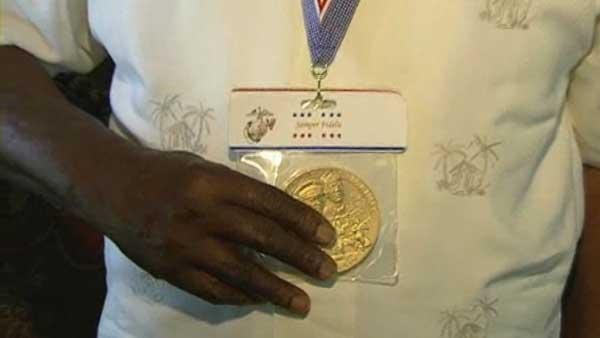 Houston vet recalls Congressional Gold Medal ceremony