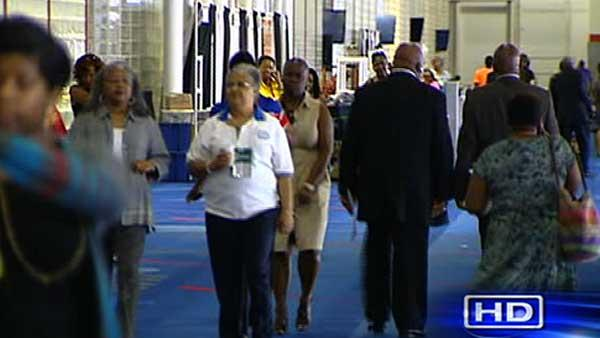 NAACP convention being held at GRB