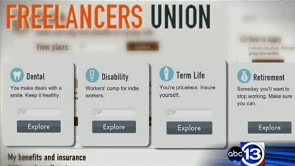 Freelancers union growing in members