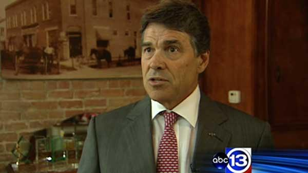 Perry continues fight against Obama's health care plan