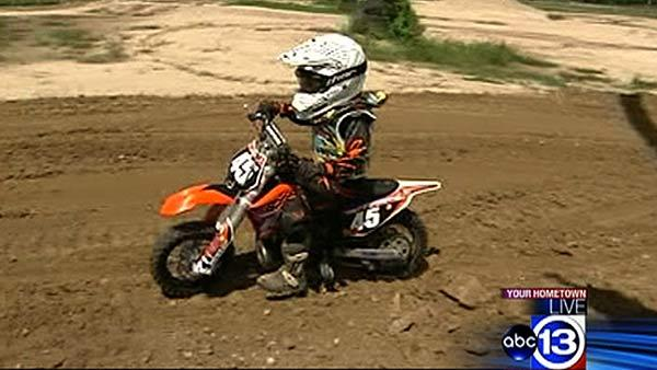 4 And 5 Year Olds On Dirt Bikes Boy wants to be American