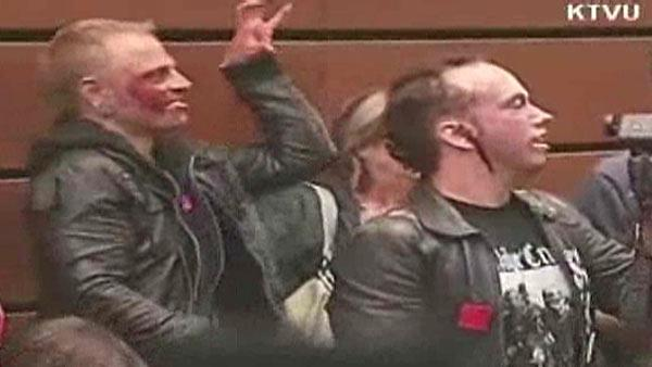 'Zombies' disrupt UC regents meeting