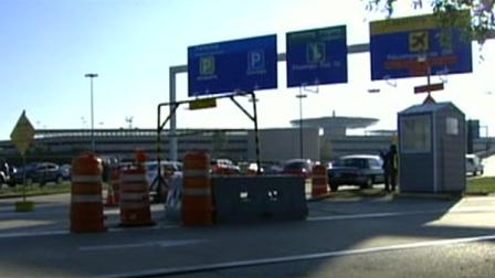 Renovations of departures entrance ramp are finally complete at Hobby Airport