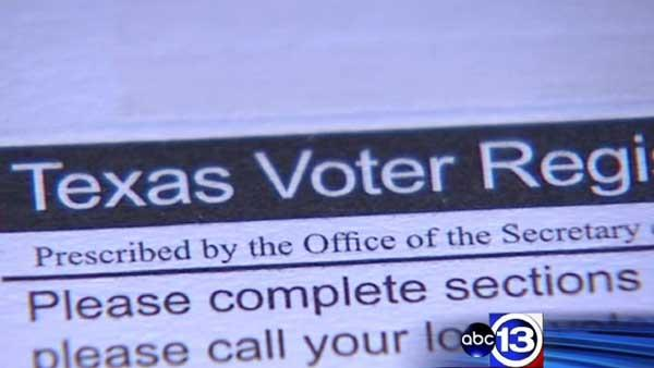 Judge deliberating Texas voter registration law