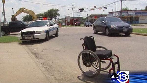 Man in wheelchair injured by hit-and-run driver