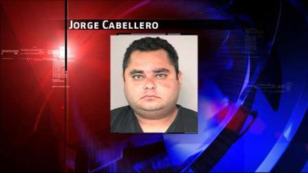 Jorge Cabellero was arrested and charged with Manufacture and Delivery of a Controlled Substance. Hes being held on a $50,000 bond.
