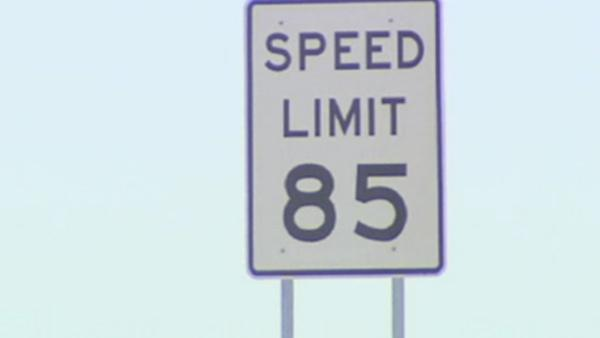 Speed limit goes up in stretch of road in TX
