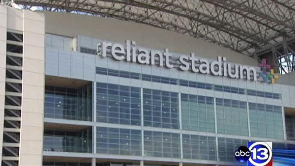 Fan injured at Reliant Stadium