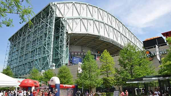 Minute Maid Park may soon undergo a makeover