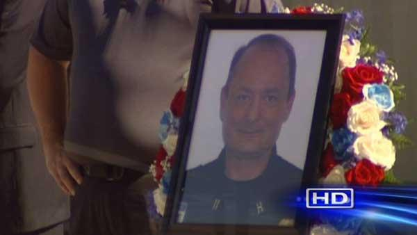 Funeral procession held for firefighter killed