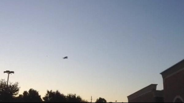 Viewer captures Endeavour leaving Houston