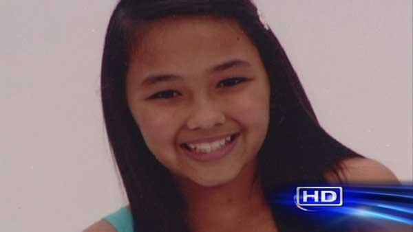Girl fatally hit by truck while waiting for bus