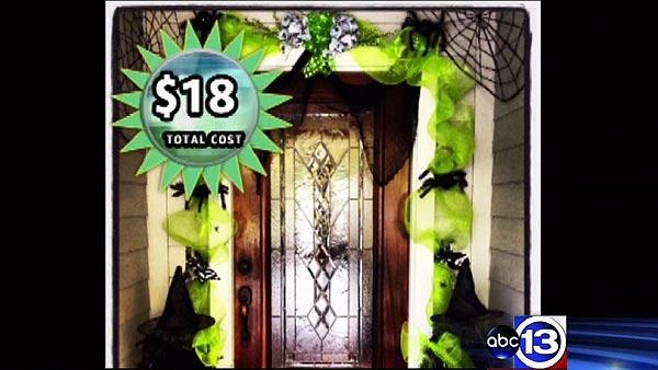 Decorating for Halloween on the cheap