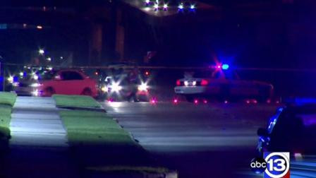 A child was struck by an oncoming vehicle last night and died from his injuries.