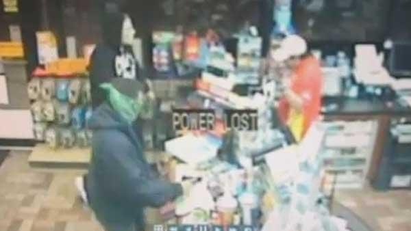 Suveillance video from Pasadena robbery