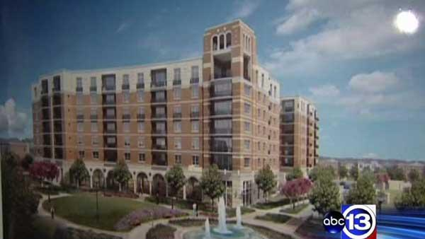 Plans for high-end complex drawing concerns from residents