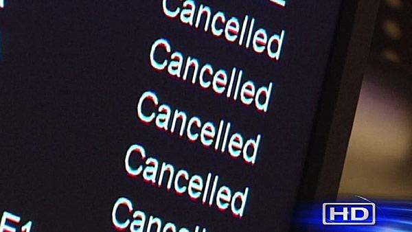 Hurricane Sandy affecting Houston air traffic