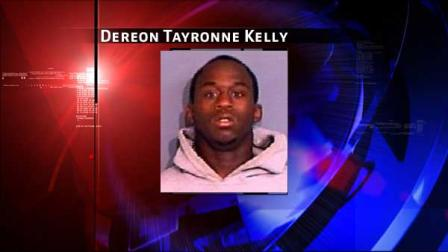 Dereon Tayronne Kelly is charged with making a terroristic threat
