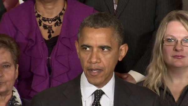 President Obama addresses so-called fiscal cliff